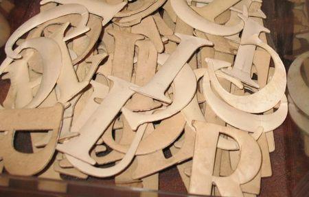 CardboardLetters