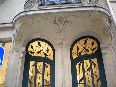 Paris doorvines