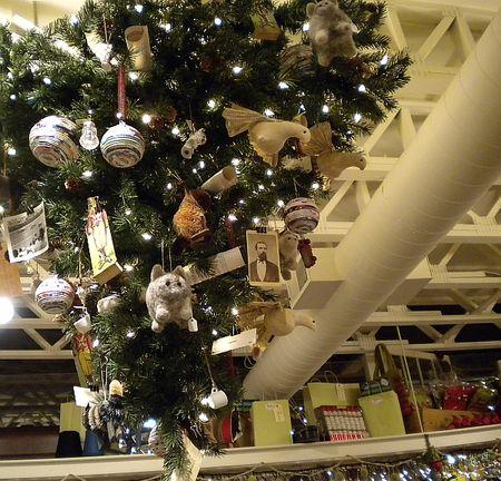Upside tree